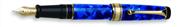 AURORA OPTIMA Auroloide Blue/Gold Damarlı Sedef Dolmakalem