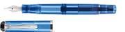 PELİKAN MODELLGRUPPE M205 TRANSPARAN MAVİ/PALADYUM DOLMA KALEM - 3 Farklı Uç Seçeneği