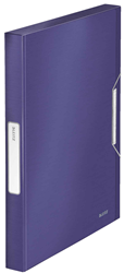 Leitz Lastikli Dosya Style Kalin L-3956 Mavi