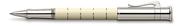 Graf von Faber-Castell Anello Ivory Resin/Platin Rollerkalem