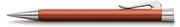 Graf von Faber-Castell Intuition Terra Tek Parça Reçine/Platin El Yapımı Mekanik Kurşun Kalem