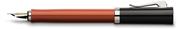 Graf von Faber-Castell Intuition Terra Tek Parça Reçine/Platin El Yapımı Dolma kalem