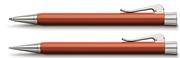 Graf von Faber-Castell Intuition Terra Tek Parça Reçine/Platin Tükenmezkalem + Mekanik Kurşun kalem Set