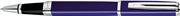 WATERMAN EXCEPTION LAKE MAVİ/PARLAK KROM(ÇELİK) ROLLERKALEM - slim blue lacguer st