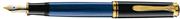 Pelikan Souveran M400 MAVİ SEDEF-SİYAH/ALTIN DOLMA KALEM - 4 Farklı Uç Seçeneği