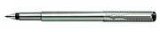 PARKER VECTOR PREMIUM Stainless Steel Classic Chiselled Pointillist design Dolma kalem