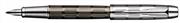 Parker I.M. PREMIUM Twin Chiselled - Krom/Kurşuni Kesik Çizgi Desen Dolma kalem