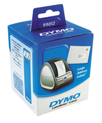 DYMO LabelWriter Serisi Geniş Adres Etiket 89x36mm - 2x6 rulo Beyaz Kağıt