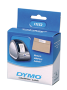 DYMO LabelWriter Serisi Uluslararası Adres Etiket 54x25mm - 1x6 Rulo Beyaz Kağıt