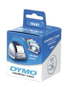 DYMO LabelWriter Serisi CD/DVD Etiket Çap:57mm - 1x6 Rulo Beyaz Kağıt