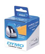 DYMO LabelWriter Serisi Askılı Dosya Etiket 50x12mm - 1x6 Rulo Beyaz kağıt