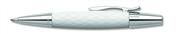FABER-CASTELL E-MOTION RHOMBUS TÜKENMEZ KALEM - beyaz