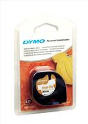 DYMO LetraTag serisi Ütü Transfer Şerit - 12mm x 2mt. - 1x10paket Beyaz