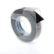 DYMO 3D Mekanik Makine için Plastik Kabartma 9mmx3mt. Şerit 1x10adet - 3 Farklı Renk Seçeneği