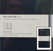 MOLESKINE Volant Pocket Address Book 13x21cm - dark blue