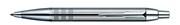 Parker I.M. PREMIUM Shiny Chrome Chiselled - Dokuma Motif/Parlak Krom Tükenmez kalem