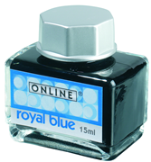 ONLINE Dolmakalem Mürekkep 15ml. - Royal Mavi