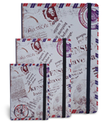 Scrikss noteLook AVUSTRALYA Pul Temalı Çizgili Not Defteri - A6 (10.5cm x 14.8cm)