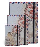 Scrikss noteLook FAS Pul Temalı Çizgili Not Defteri - A7 (7.4x10.5cm)