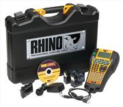 DYMO Rhino 6000 PC Bağlantılı Endüstriyel Elde Taşınabilir Etiketleme Makinesi Çantalı Set