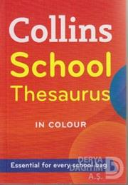 COLLİNS / COLLINS SCHOOL THESAURUS EASY COLOUR
