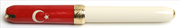 VISCONTI for TURKEY Vegetal Resin/Gold Roller kalem<br><img src= resim/mypenli.gif  border= 0 />