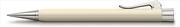 Graf von Faber-Castell Intuition Ivory Tek Parça Reçine/Platin El Yapımı 0.7mm M.Kurşunkalem