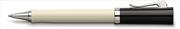 Graf von Faber-Castell Intuition Ivory Tek Parça Reçine/Platin El Yapımı Roller kalem