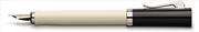 Graf von Faber-Castell Intuition Ivory Tek Parça Reçine/Platin El Yapımı Dolmakalem