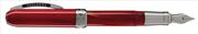 VISCONTI REMBRANDT Red Vegetal Resin Dolma Kalem - Gölgeli Kırmızı<br><img src= resim/mypenli.gif  border= 0 />