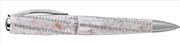"VISCONTI DIVINA ROYALE ROSE ""Peau d Ange"" Beyaz Altın Spiral-215 İtalyan Kristal Tükenmez Kalem<br><img src= resim/mypenli.gif  border= 0 />"