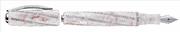 "VISCONTI DIVINA ROYALE ROSE ""Peau d Ange"" Beyaz Altın Spiral-275 İtalyan Kristal Dolma Kalem<br><img src= resim/mypenli.gif  border= 0 />"