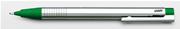 LAMY LOGO MAT KROM/PLASTİK 0.5mm ÜSTEN BASMALI KURŞUN KALEM - Yeşil