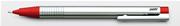 LAMY LOGO MAT KROM/PLASTİK 0.5mm ÜSTEN BASMALI KURŞUN KALEM - Kırmızı