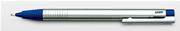 LAMY LOGO MAT KROM/PLASTİK 0.5mm ÜSTEN BASMALI KURŞUN KALEM - Mavi