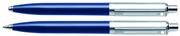 SHEAFFER Sentinel Parlak Mavi/Krom-Çelik Tükenmezkalem + M.Kurşunkalem Set