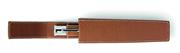 GrafvonFaber-Castell For Pen of the Year(Yılın Kalemi İçin) Fransız Sığır Derisi Büyük Tekli Kılıf - Kahve