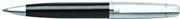 SHEAFFER 500 Parlak Krom/Parlak Siyah Tükenmez kalem