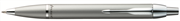 Parker I.M. GÜMÜŞ MAT LAKE KROM/SS TÜKENMEZ KALEM - silver matte chrome ssct