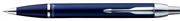 Parker I.M. PARLAK ROYAL MAVİ KROM/SS M.KURŞUN KALEM  - royal blue ssct