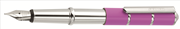 ONLINE Piccolo Dreaming Parlak Krom/Mat Pembe İnce-Mini Dolma kalem