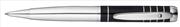 Waldmann Cassini Yüzük Desenli Siyah Lake 925 Som Gümüş Tükenmez Kalem