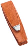 ONLINE Leather Crystallized® -Swarovski Tasarım Kısa Tekli Kalem Kılıfı (12x3.5cm) - Juicy Mango