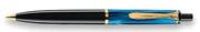 Pelikan K200 Modellgruppe DAMARLI MAVİ/SİYAH TÜKENMEZ KALEM