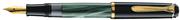 PELİKAN M200 MODELLGRUPPE DAMARLI YEŞİL/SİYAH DOLMA KALEM - 4 Farklı Uç Seçeneği