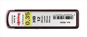 Rotring hi-Polymer Mekanik Kurşunkalem Ucu 0.30-0.35mm (HB)