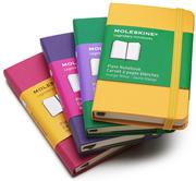 MOLESKINE Hard Cover Plain Notebook 6.5x10.5cm - 6 Farklı Renk Seçeneği