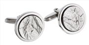 Waldmann Germany Sueno 925 Dövme Som Gümüş Kol Düğmesi