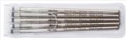 rotring Tikky 3in1 Multipen 5 li Paket Kısa Yedek - Siyah