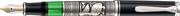 Pelikan Toledo M710 Som Gümüş El İşlemeli Orta Boy Dolma kalem - 3 Farklı Uç Seçeneği